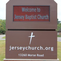 Jersey Baptist EMC monument