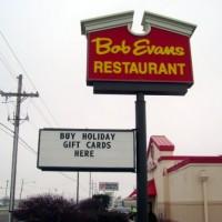 Bob Evans Readerboard