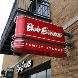 Bob Evans Special Ballpark Sign photo