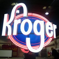 Kroger - Projecting & Rotating Sign