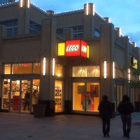 LEGO projecting
