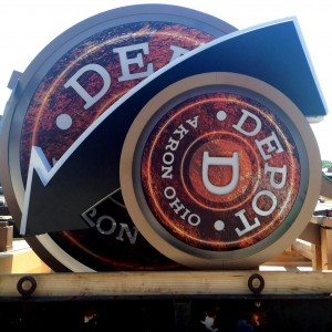 The Depot - Both Signs
