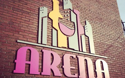 Arena Wine & Spirits sign gets Columbus Underground Attention