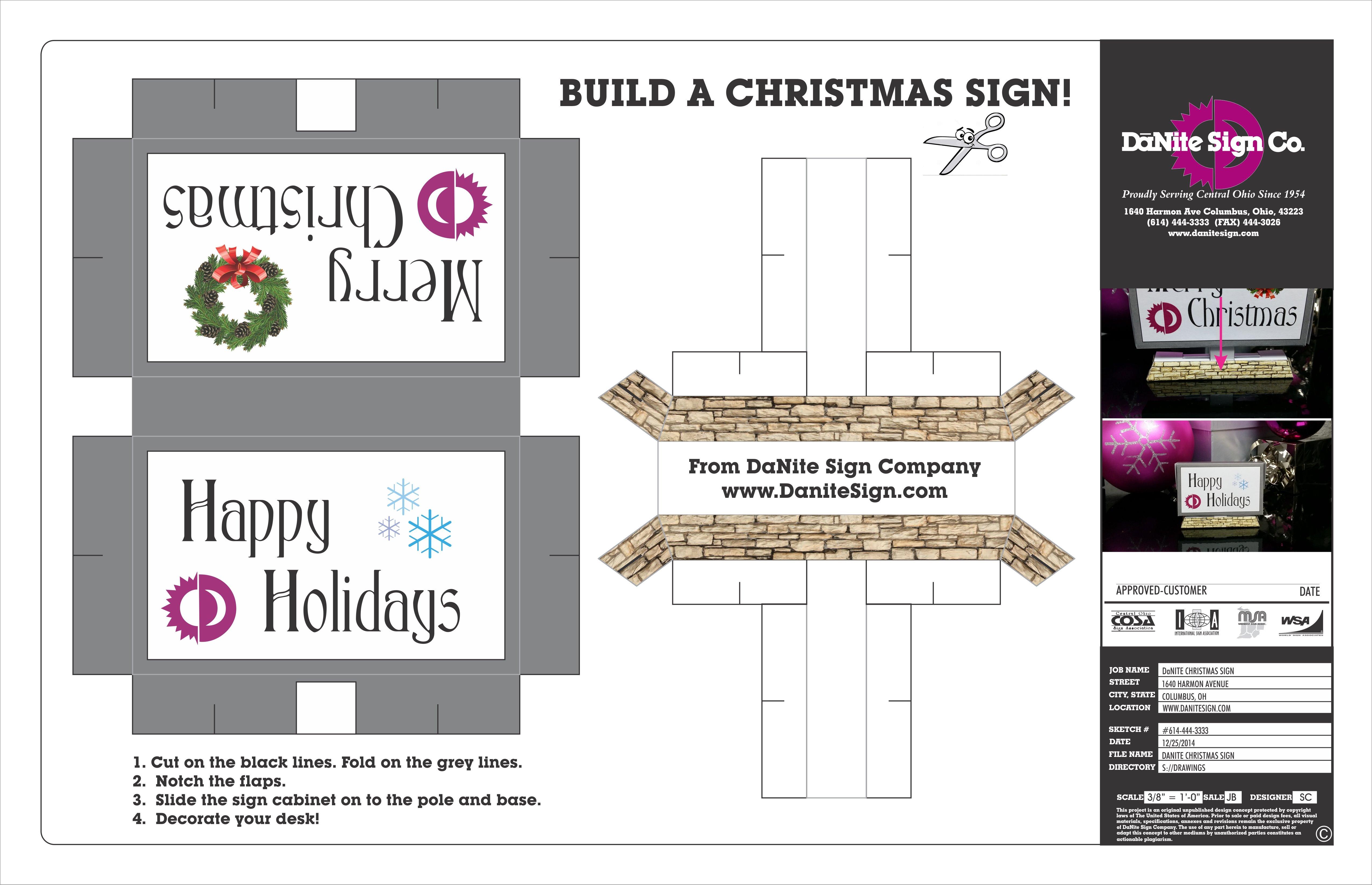 Christmas Sign 2014
