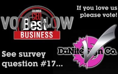 Vote for DāNite Sign Company!