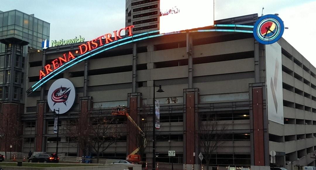 DaNite Installs New Arena District Icon