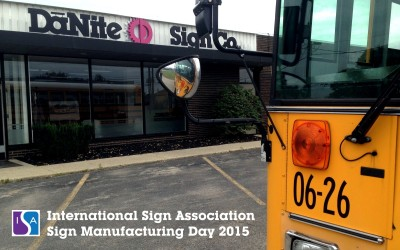 ISA Sign Manufacturing Day at DāNite Sign Company