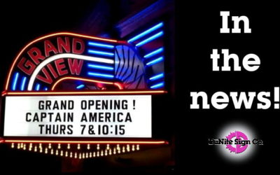 The Grandview Theater Sign in the News!