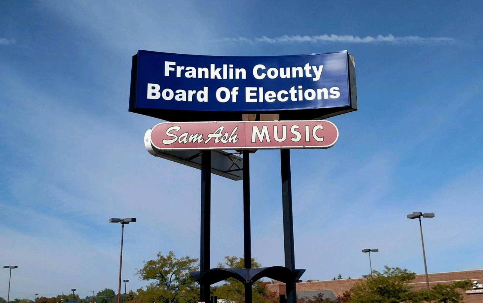 Signs Of Early Voting