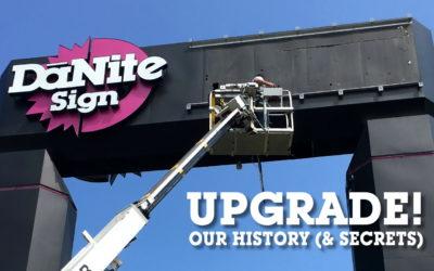 SIGNAGE UPGRADE! History & Secrets