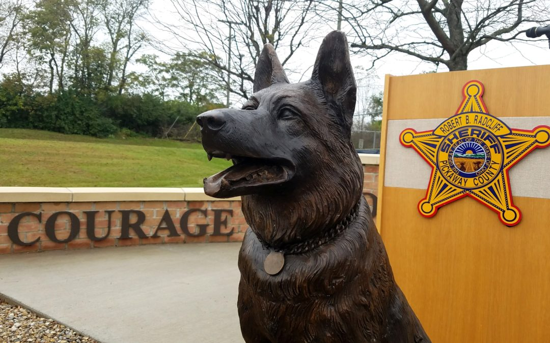 K9 Memorial Contribution by DāNite Sign Co