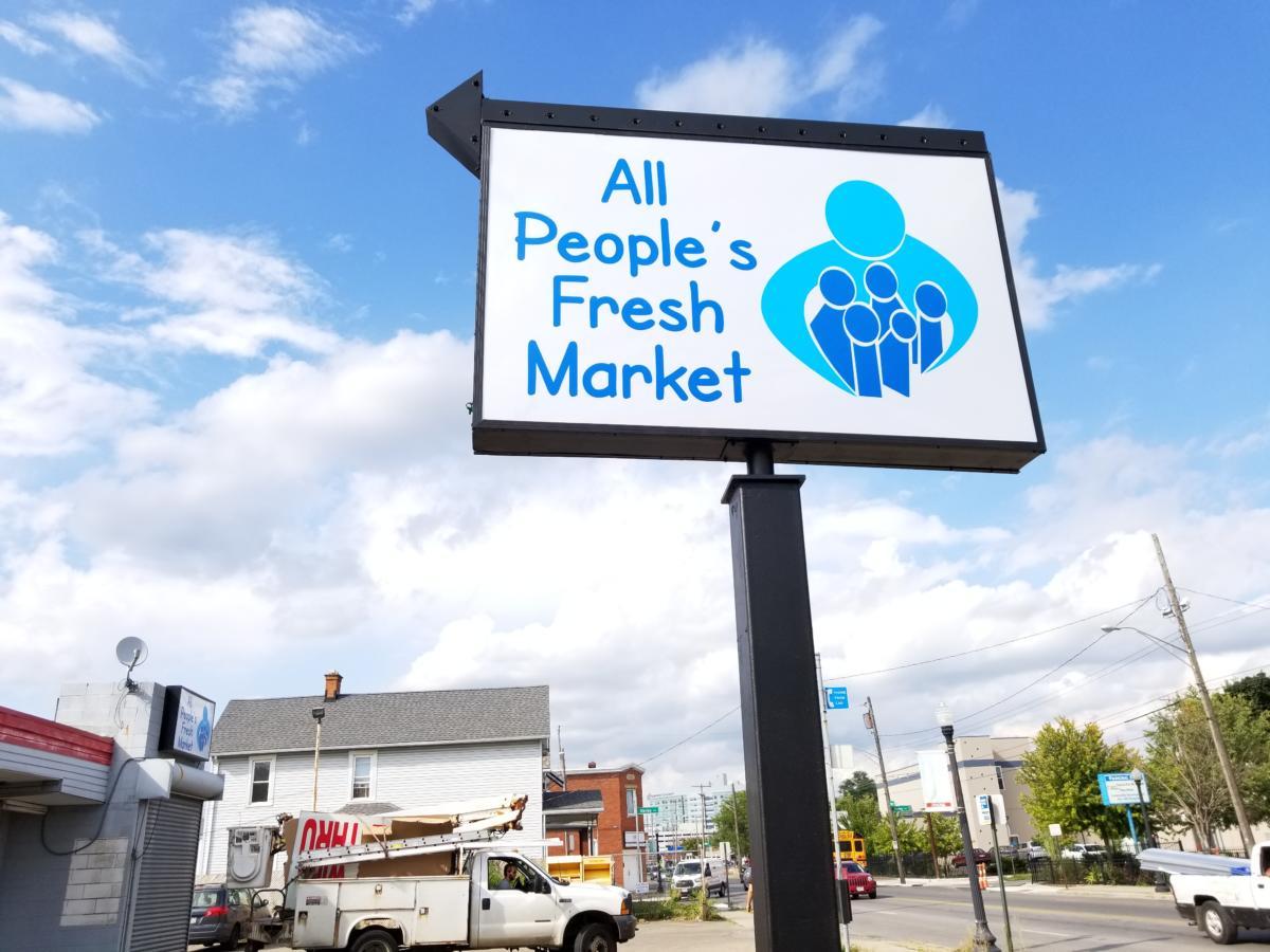 nonprofit signage