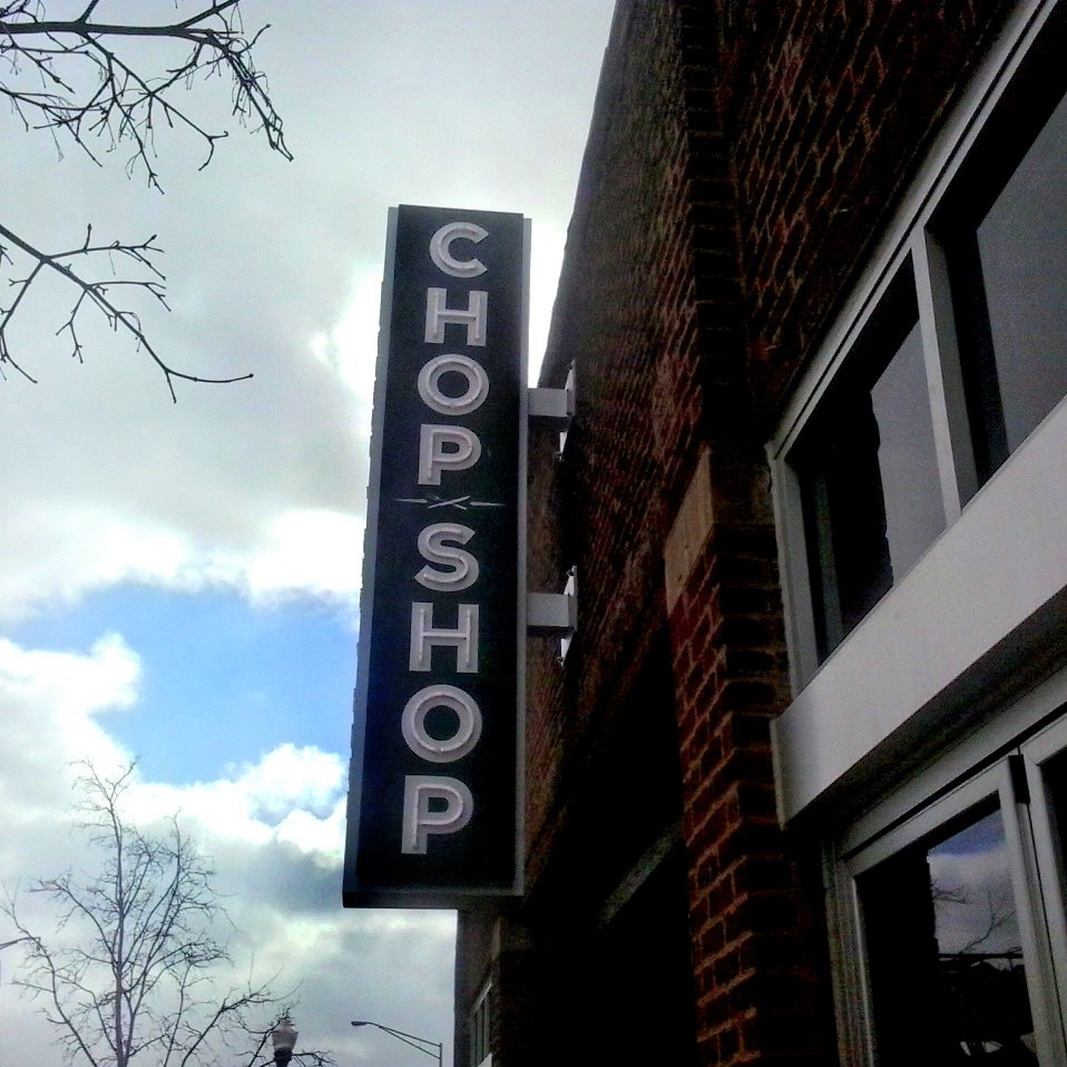 outdoor bar sign
